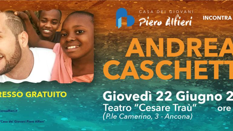 Casa dei giovani Piero Alfieri incontra Andrea Caschetto